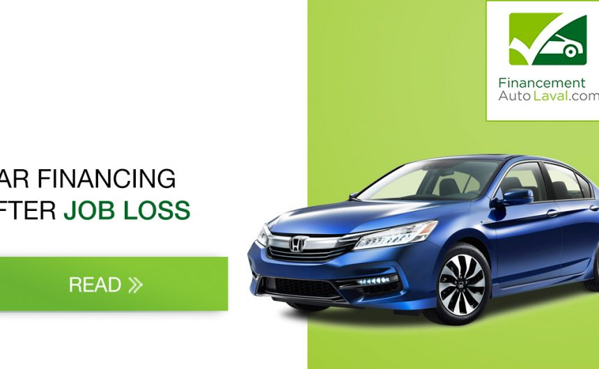 Car Financing After Job Loss