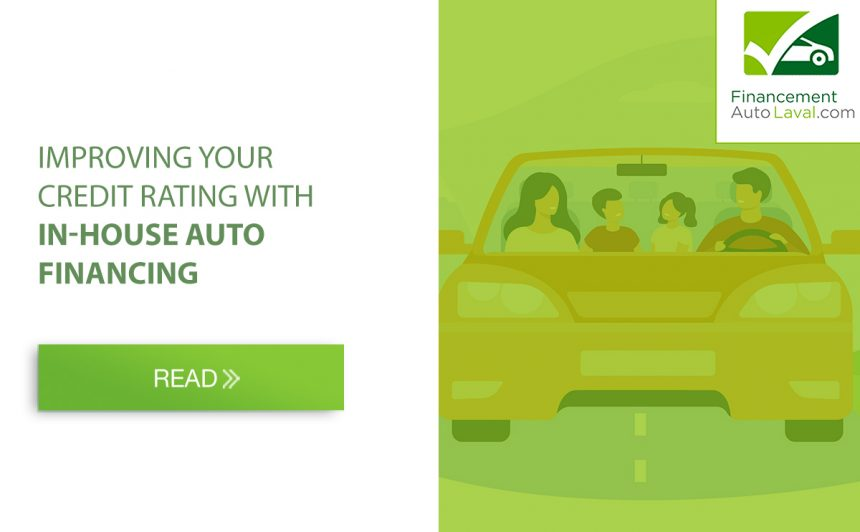 Improving Your Credit Rating with In-house Auto Financing